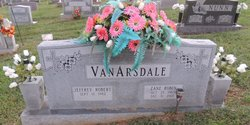 Mrs Zane Robin Vanarsdale