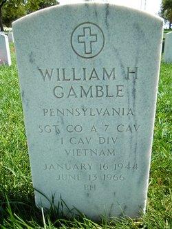 William H Gamble