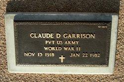 Claude D Garrison