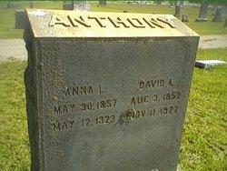 Anna Lucinda <I>Lowe</I> Anthony