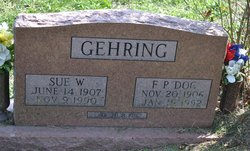 """Ferol Preston """"Doc or F.P."""" Gehring"""