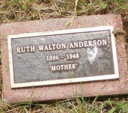 Ruth <I>Walton</I> Anderson