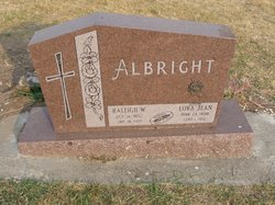 Lora Jean <I>Brackett</I> Albright