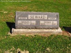 Matilda E <I>Miller</I> Seward