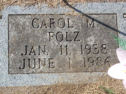Carol M. <I>Krostag</I> Folz