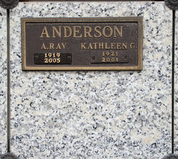 Kathleen G Anderson
