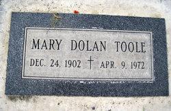 Mary <I>Dolan</I> Toole