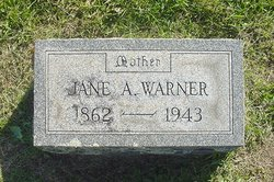 Jane Ann <I>Farnsworth</I> Warner