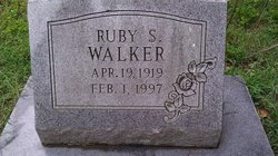 Ruby S Walker