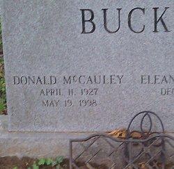 "Donald McCauley ""Donnie"" Buck"