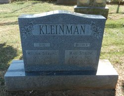 Mary <I>Sterling</I> Kleinman