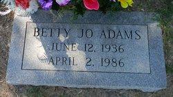 Betty Jo Adams