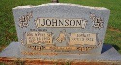 Donald Wayne Johnson, Sr