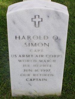 Harold O Simon
