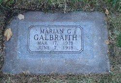 Marian Gertrude Galbraith