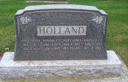 Hannah Sarah <I>Forester</I> Holland