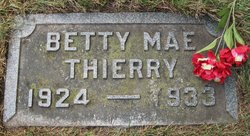 Betty Mae Thierry