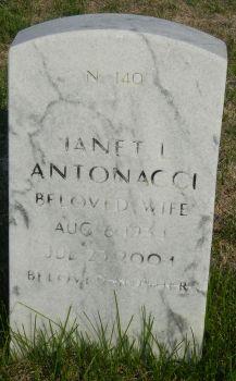 Janet Lee <I>Dennison</I> Antonacci