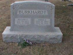 Emma Elizabeth <I>Burkhart</I> Burkhardt
