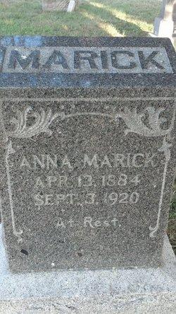 Anna Almira Marick
