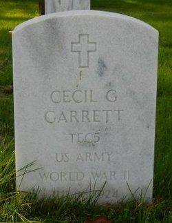 Cecil Glenn Garrett
