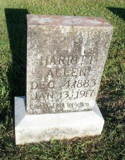 Harritt Elizabeth <I>Crabtree</I> Allen