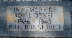PFC Roy L Dover
