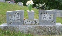 Grady H Cope