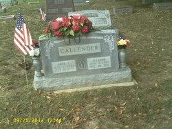 Ruth Eleanor <I>Cline</I> Callender