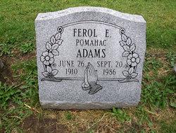 Ferol E. <I>Shull</I> Adams