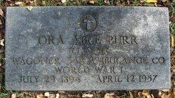 Ora Able Burr
