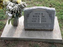 OWEN W BOEN Jr.