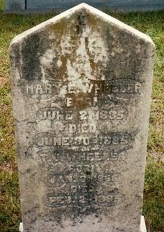 Mary Elizabeth <I>Dickerson</I> Wheeler