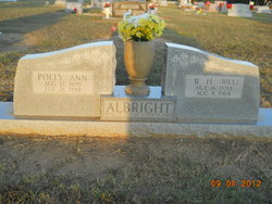 Polly Ann <I>Bray</I> Albright