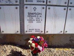 Edward B Simpson, Jr