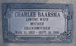 Charlee <I>Moriarty</I> Baarsma