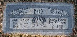 Royce Aaron Fox