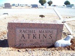 Rachel Maxine <I>Baccus</I> Atkins
