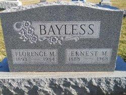 Florence M. <I>Gohman</I> Bayless