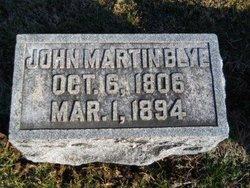 John Martin Blye