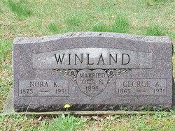 Nora <I>Kinney</I> Winland