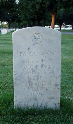 Paige Ann Finlay