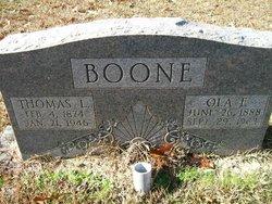 Ola <I>Futch</I> Boone