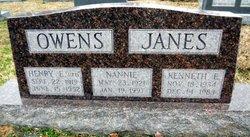 Nannie Perryman <I>Owens</I> Janes
