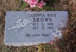 Casonya Rose Brown