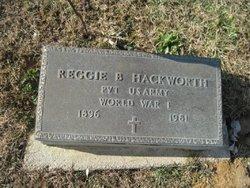 Pvt Reggie B Hackworth