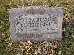 Elza <I>Boyd</I> Berkheimer