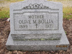 Olive <I>Miller</I> Bollia