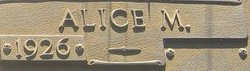 Alice <I>Merrill</I> Huffstetler