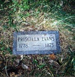 "Priscilla ""Prissi"" <I>Bosley</I> Evans"